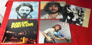 5 Langspielplatten JEAN LUC PONTY  - Vinylsammlung -