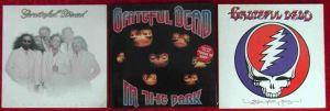 4 Langspielplatten GRATEFUL DEAD  - Vinylsammlung -