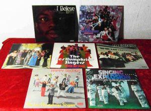 7 Langspielplatten LES HUMPHRIES SINGERS  - Vinylsammlung - incl. Clubauflagen