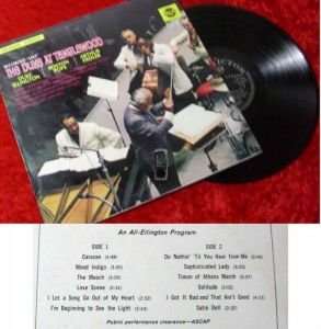 LP Duke Ellington: The Duke at Tanglewood w/Boston Pops