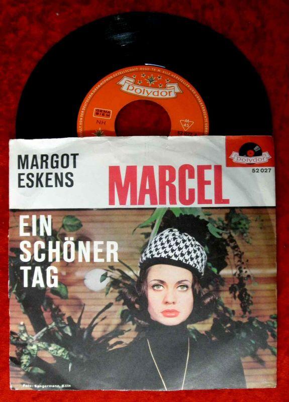 Single Margot Eskens: Marcel (Polydor 52 027) D 0