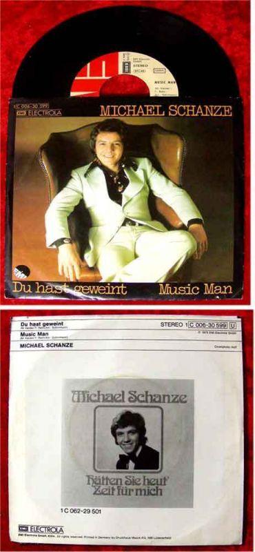 Single Michael Schanze: Du hast geweint 0