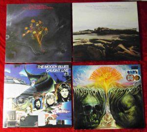 6 Langspielplatten MOODY BLUES   - Vinylsammlung -
