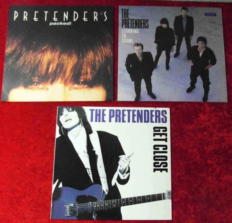 3 Langspielplatten  PRETENDERS - Vinylsammlung - 0