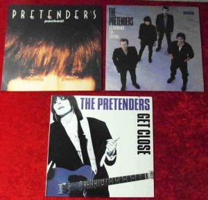 3 Langspielplatten  PRETENDERS - Vinylsammlung -