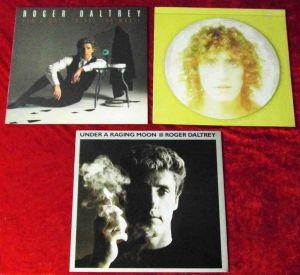 3 Langspielplatten  von ROGER DALTREY - Vinylsammlung -