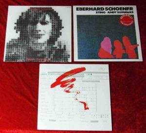 3 Langspielplatten EBERHARD SCHOENER  - Vinylsammlung -
