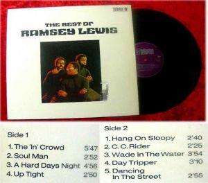 LP Ramsey Lewis Trio: The Best of Ramsey Lewis