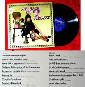 LP Schlager, die man nie vergißt (Philips Stereo 843 718 PY) D 1965