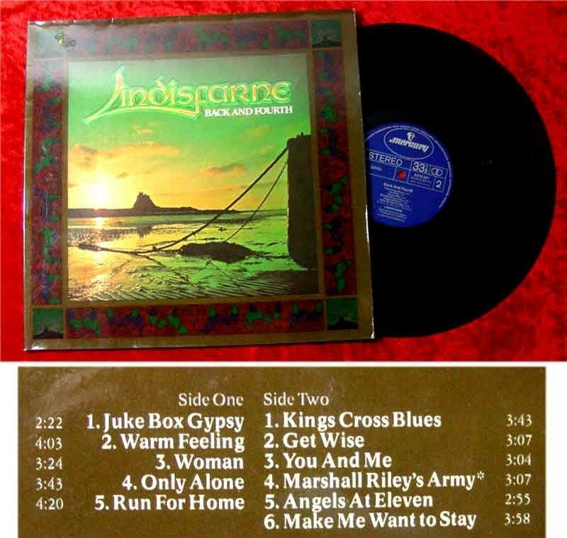 LP Lindisfarne Back and Fourth 1978