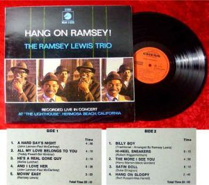 LP Ramsey Lewis Trio: Hang on Ramsey