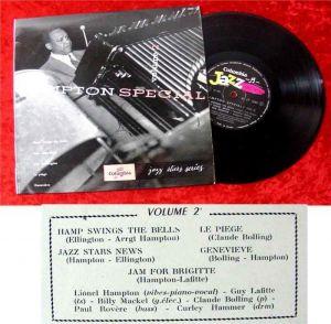 25cm LP Lionel Hampton Hampton Special Vol 2 Columbia J