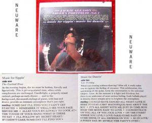 LP Jackie Gleason: Lover´s Portfolio Vol. 1 Neuware OVP