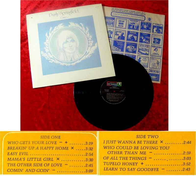 LP Dusty Springfield: Cameo