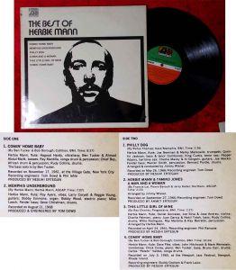 LP Herbie Mann: The Best Of Herbie Mann (Atlantic SD 1544) D 1970