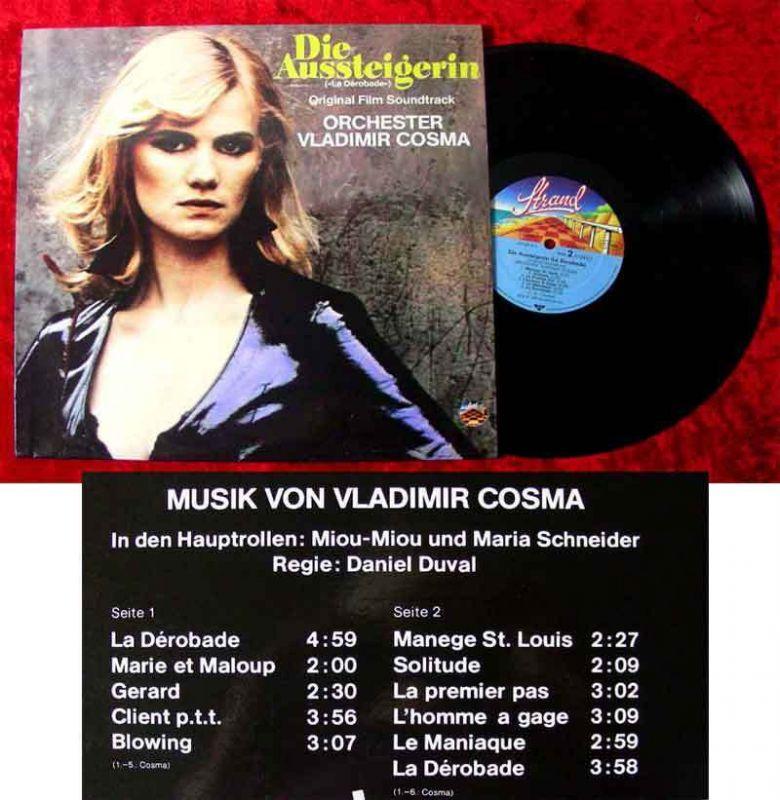 LP Die Aussteigerin  Vladimir Cosma 1980