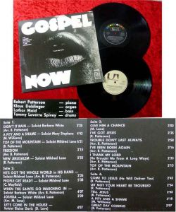 2LP Robert Patterson Singers: Gospel Now Live in Europe