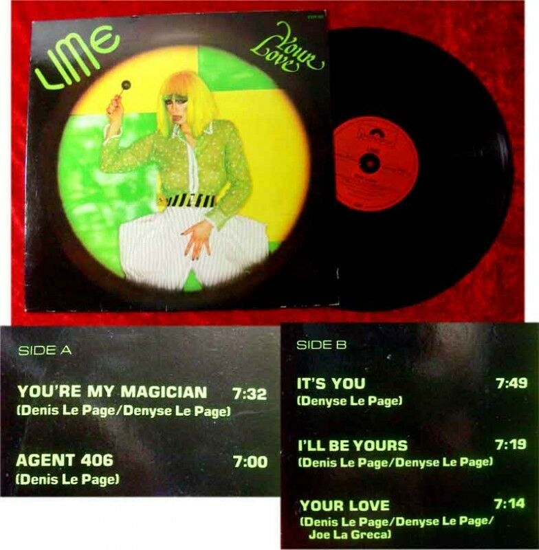 LP Lime Your Love 1981