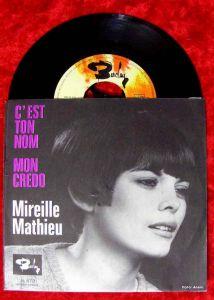 Single Mireille Mathieu: C´est Ton Nom