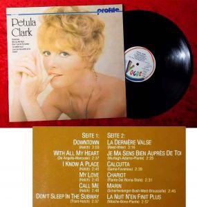 LP Petula Clark: Profile (Vogue 624 272 AC) D 1977