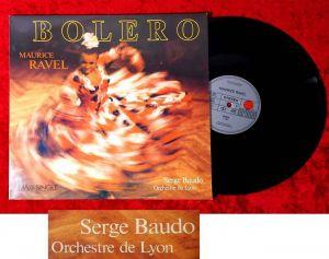 Maxi Serge Baudo / Orchestre de Lyon: Bolero (Ariola 601 664-213) D