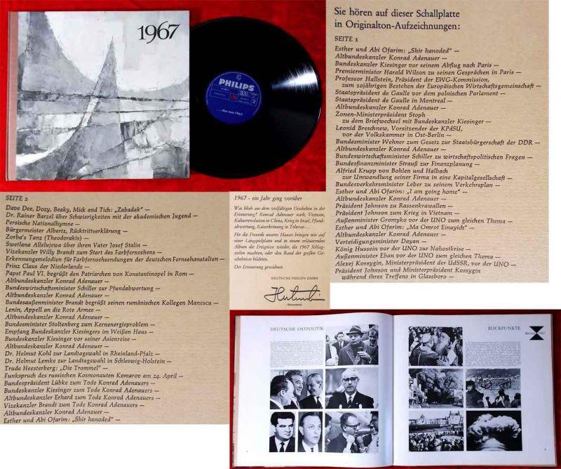 LP 1967 Chronik eines Jahres (Philips H 1483 L) D