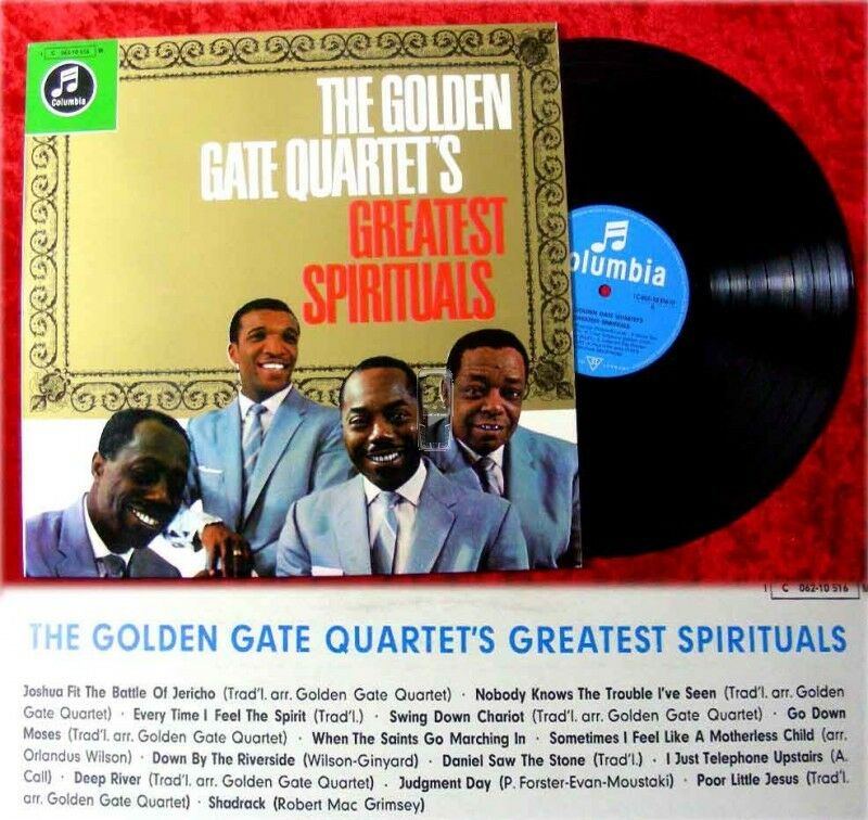 LP Golden Gate Quartet's Greatest Sprituals