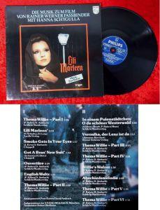 LP Lili Marleen - Musik: Peer Raben - Hanna Schygulla (Philips 6435 083) D 1980