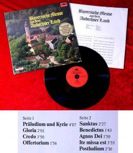LP Bayerische Messe aus dem Andechser Land (Polydor 2416 117) D 1977