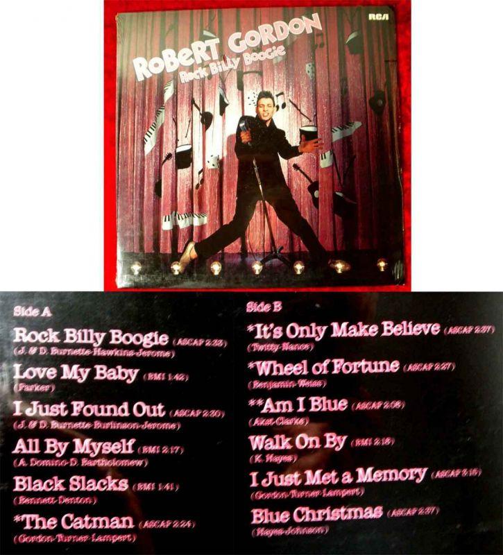 LP Robert Gordon: Rock Billy Boogie (RCA PL 13294) D 1979