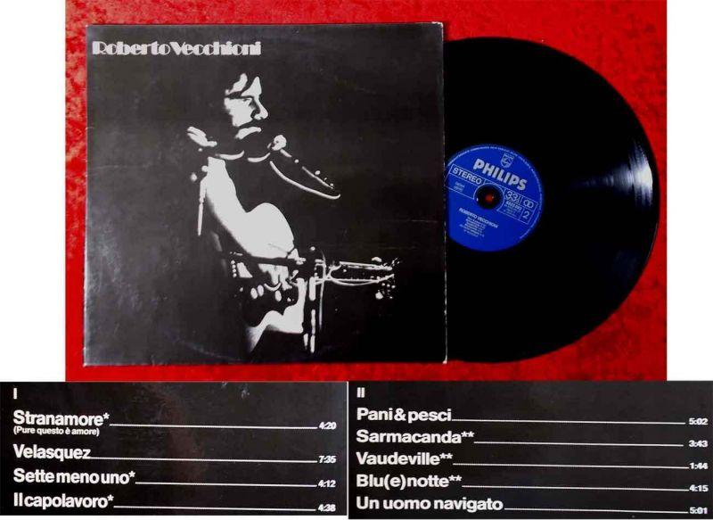 LP Roberto Vecchioni (Philips 6323 093) D 1978