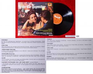 LP Fritz Schulz-Reichel: In einer Bar gegenüber (Polydor 46 616) D 1963