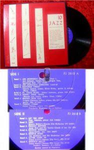 LP Jazz 10 - Boogie Woogie Jump Kansas City (1961)