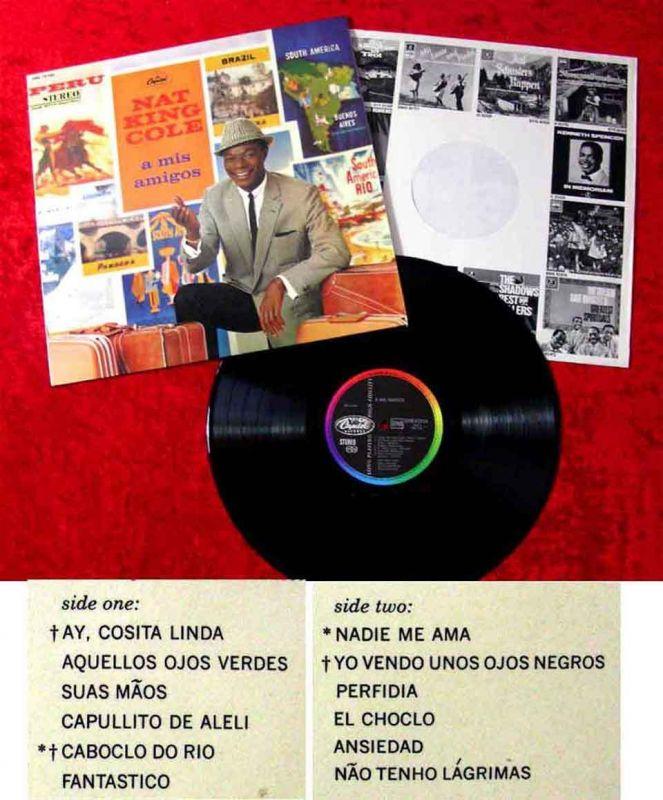 LP Nat King Cole: A Mis Amigos (Capitol SMK 73 056) D