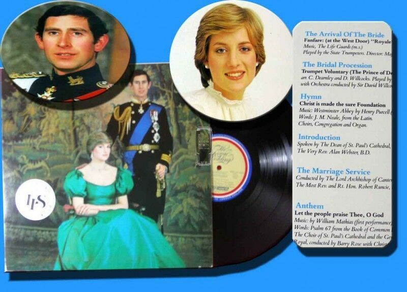 LP The Royal Wedding 1981 Diana & Charles
