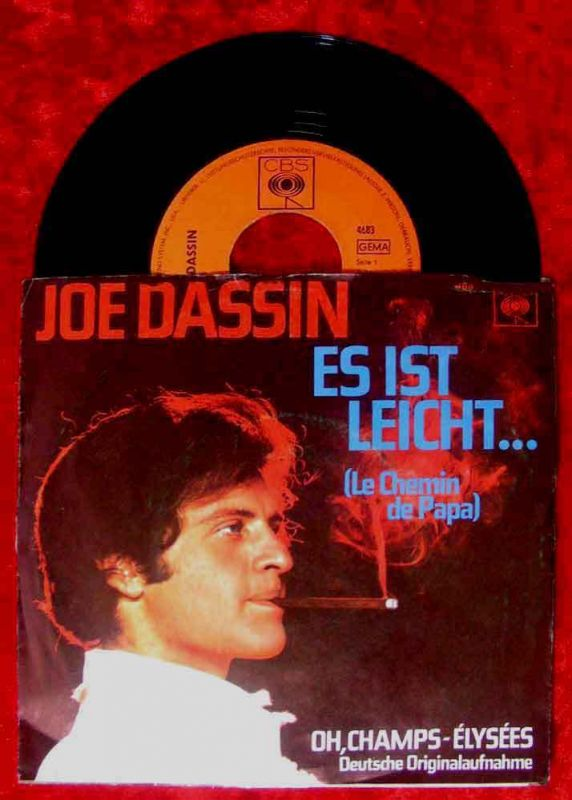 Single Joe Dassin: Oh Champs-Elysées (deutsche Version)
