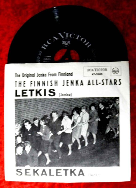 Single Finnish Jenka All Stars: Letkis (RCA Victor 47-9608) D 1965