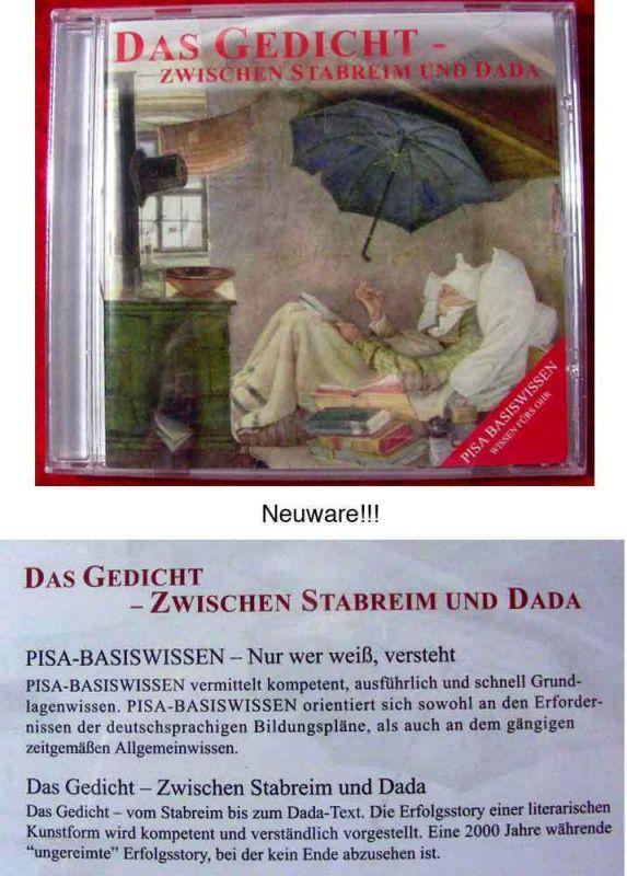 CD Das Gedicht - zwischen Stabreim und DaDa (Neuware)