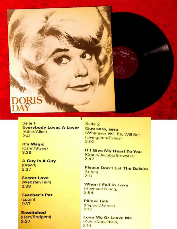LP Doris Day (Amiga 855 075) DDR 1982