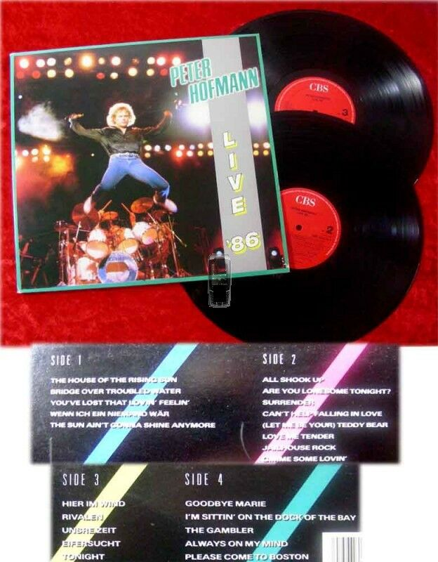 2LP Peter Hofmann Live '86