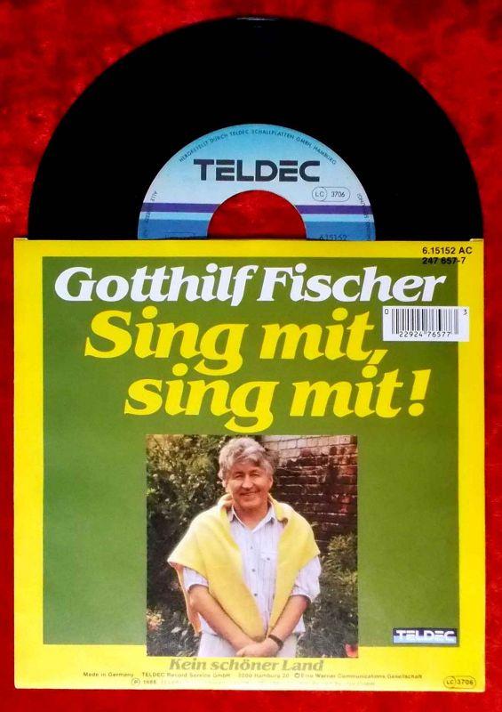Single Gotthilf Fischer: Sing mit, sing mit! (Teldec 615152 AC) D 1988