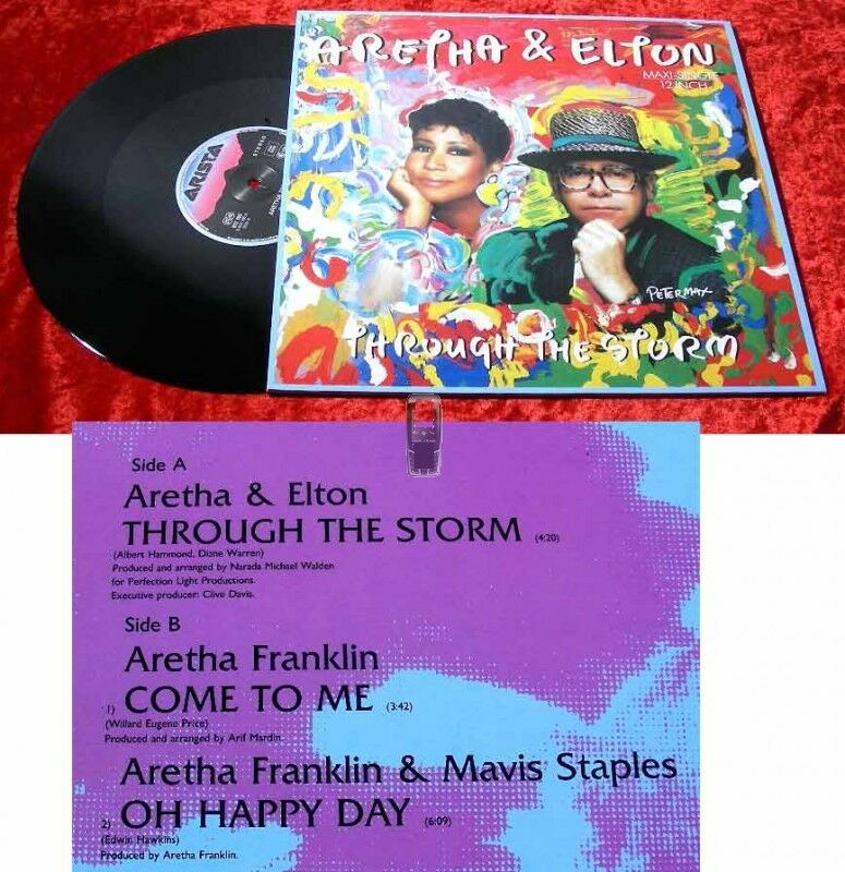 Maxi Aretha Franklin & Elton John: Through the Storm