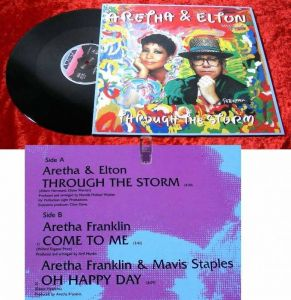 Maxi Aretha Franklin & Elton John: Through the Storm