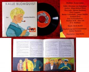 Single Kalle Blomquist der Meisterdetektiv (Polydor 55 040 KN) D 1960