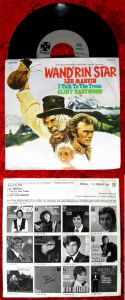 Single Lee Marvin: Wand´rin Star / Clint Eastwood (Paramount 1C 006-91 108) D