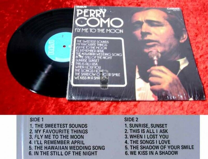 LP Perry Como: Fly me to the Moon