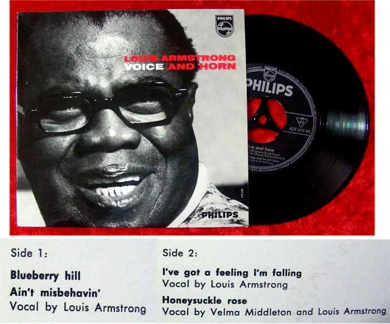 EP Louis Armstrong Voice and Horn