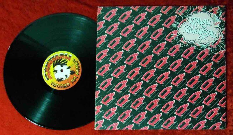 LP Checkpoint Charlie: Krawall im Schweinestall (Schneeball 0024) D 1981