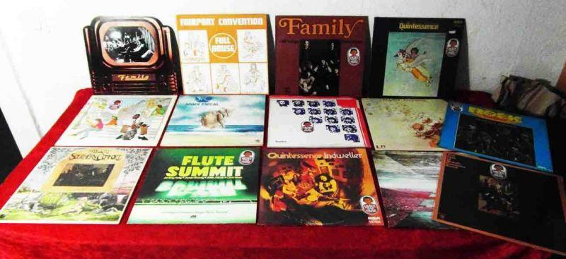 15 Langspielplatten ROCK/POP - FAMILY TANGERINE DREAM....usw - Vinylsammlung -
