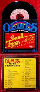 Single Small Faces: All Or Nothing / Sha la la la lee (Bellaphon Oldies Serie) D